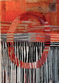 Brenda Holzke ~ collage and mixed media