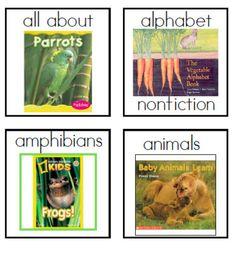 Nonfiction labEls