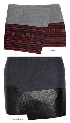 Dare to DIY: Inspiración DIY: Wrap Skirts