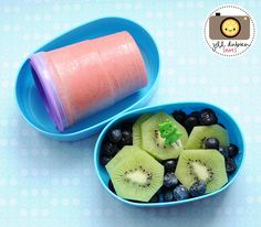 GREAT idea for getting the kids to eat healthier lunches.