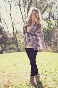 maternity street style  Kelly Hicks