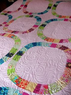 Single Girl Quilt by QOB, via Flickr