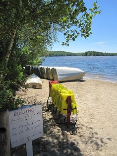 The Medicine Bow waterfront on July 6, 2014, at Camp #Yawgoog, Rockville, Hopkinton, Rhode Island (RI).  Image by David R. Brierley.