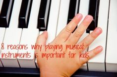 Musical instruments for kids: 8 reasons why they should learn