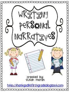 Writing Personal Narratives!