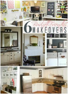 6 Budget-Friendly Makeovers + Work it Wednesday No. 37