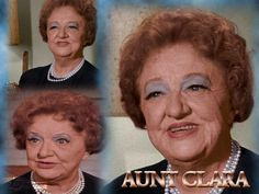 i loved Aunt Clara from Bewitched!  Actress: Marion Lorne
