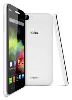 "SMARTPHONE WIKO RAINBOW 5"" WHITE 5/QUADCORE/1GB/4GB/DUAL SIM/ ANDROID4.2 177,81€ PVP #tiendanexus"