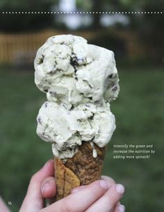 Mint Chip Ice Cream Recipe share and a WHOLE eBOOK of dairy-free, egg-free, nut-free, top 8 allergen-free and AIP-friendly ICE CREAM, CONES and SAUCE recipes! #paleo #aip #aipaleo