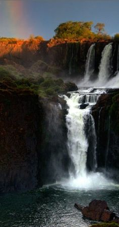 Iguazu Falls in Missiones, Argentina • Kim Rormark photography