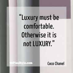 I totally agree with this statement from Chanel. You?