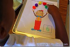 More preschool circus ideas