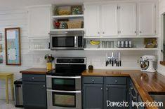 cor diy kitchens decor cabinets colors open shelves budget kitchens
