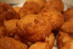 Hush Puppies--I learned to make these because I felt I was living in the south and it would be fun to learn some of the cooking.