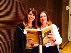 Author Angie Klink and Suzanne Braun Levine, founding editor of Ms Magazine, at Erma Bombeck Writers' Workshop.