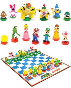Super Mario Chess. via: http://blog.bytequeeugosto.com.br/super-mario-chess/