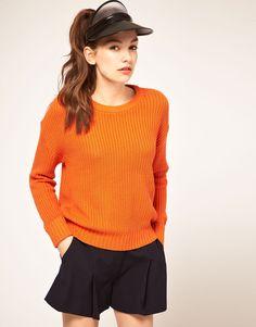 Fishermans Orange Knit