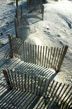 Tybee Island Beach Fence - I want to go back to Tybee Island.