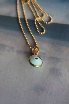 evil eye necklace. I really want this!