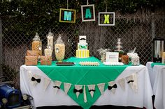 themed birthday parties, boy baby showers, gentleman babi, baby shower gentleman, bow ties, shower idea, little man shower, gentleman baby shower, babi shower