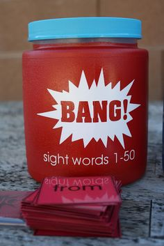 The Red Balloon: BANG!- a sight word game