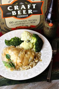 Honey Mustard Pale Ale Chicken - RecipeGirl.com