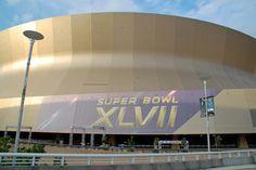 The Mercedes-Benz Superdome! — en New Orleans Saints.