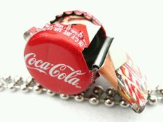 Coca Cola recycled whistle...