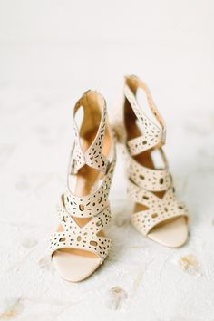 leather cutout sandals, photo by Anne Brookshire http://ruffledblog.com/slate-gray-wedding-inspiration #weddingshoes #shoes