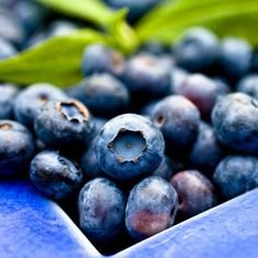 BLUEBERRIES These lovely little berries are a true nutritional powerhouse! They are credited with fighting cancer, strengthening memory and even helping your heart and blood sugar. You definitely want to include these goodies in your clean eating plan!