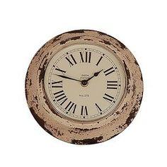 vintage kuchenuhr : Vintage-Home Wanduhr Braxton Uhr Metall ? 22 cm K?chenuhr ...