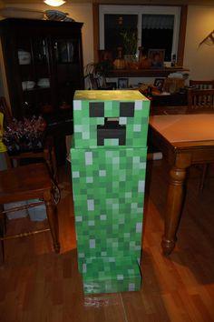Mine craft creeper