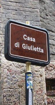 Casa di Giulietta (Juliët's house), Verona ❤
