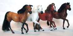 Grand Champions toy horses.  I was obsessed with these things. Still have all of them too