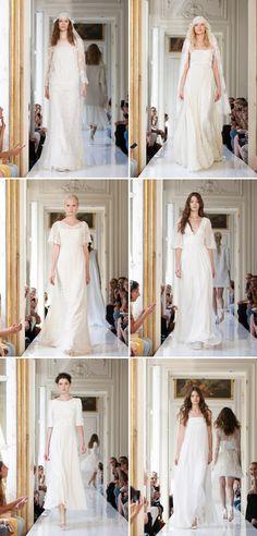 Wedding dresses from the Delphine Manivet 2013 bridal collection | junebugweddings.com