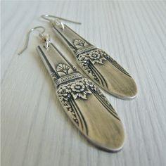 Flatware Jewelry on Pinterest