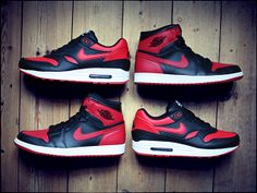 These 'Banned' Jordan 1-inspired Air Max 1 iDs Are Awesome | Sole Collector