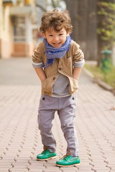 great little boy style.