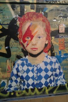 Little Aladdin Sane in El Gotic
