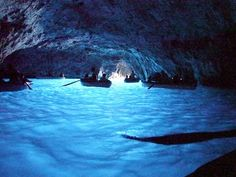 Blue Grotto, Capri - one's of life's most spectacular moments and where I got engaged :)  I want to go back