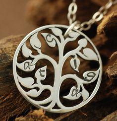Psalm 1 Tree - necklace option #3