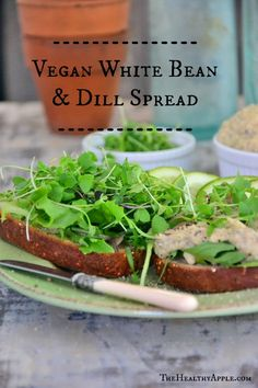 Vegan White Bean and Dill Spread