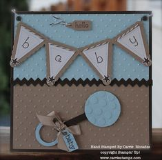 Baby Rattle Card