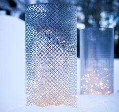 DIY Luminaries