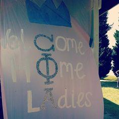 Omega Phi Alpha ... welcome home