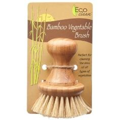 Lola Eco Clean Bamboo and Tampico Vegetable Brush: Amazon.ca: Home & Kitchen