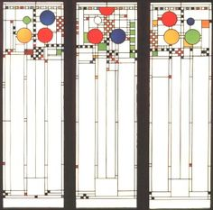 Frank Lloyd Wright window
