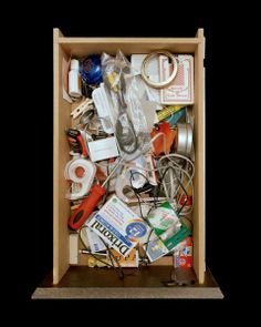 Junk Drawer, Tempe, Arizona, by Paho Mann - 20x200 (from $24)