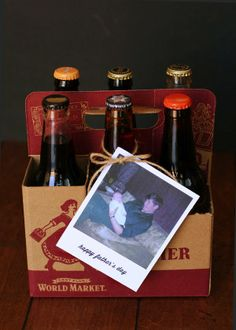 eighteen25: Father's Day Six Pack with Polaroid Tag