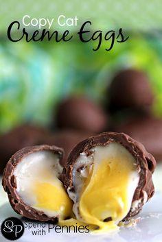 Copy Cat Creme Eggs Recipe